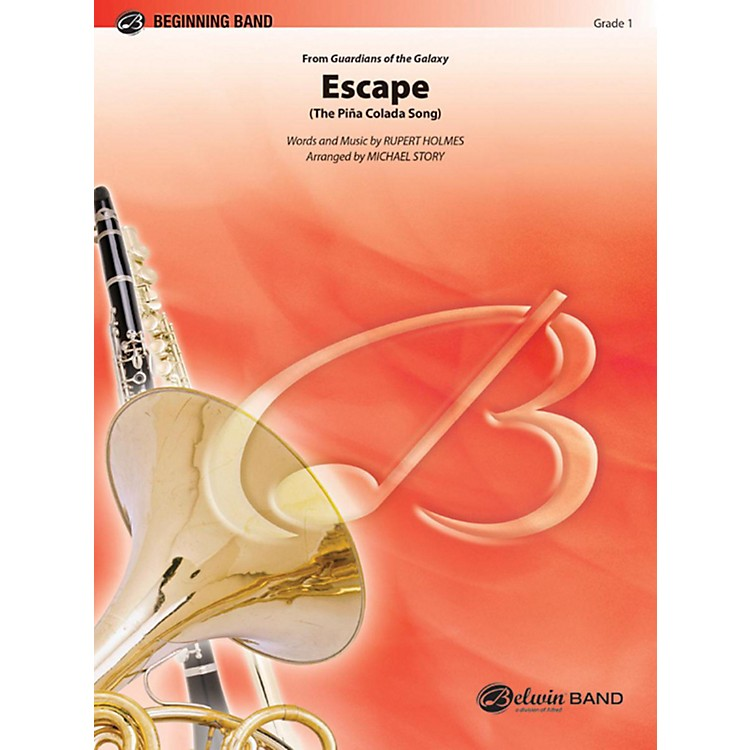 Alfred Escape (from Guardians of the Galaxy) Concert Band Grade 1