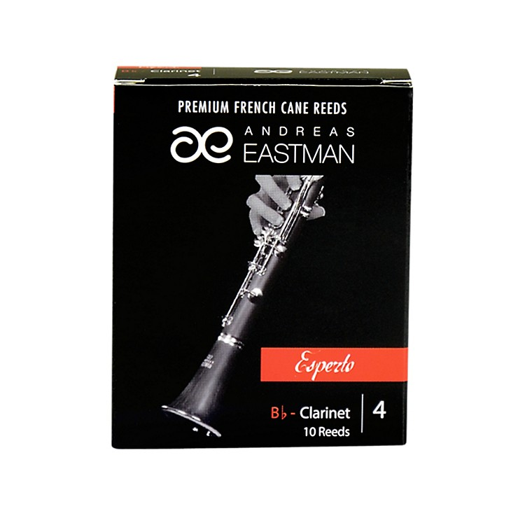 Andreas Eastman Esperto Bb Clarinet Reeds Strength 4 Box of 10