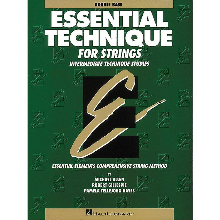 Hal LeonardEssential BassTechnique
