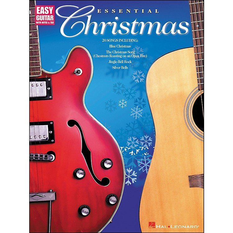 Hal Leonard Essential Christmas Easy Guitar with Notes & Tab