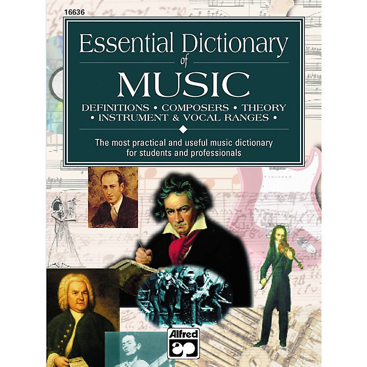 AlfredEssential Dictionary of Music Book