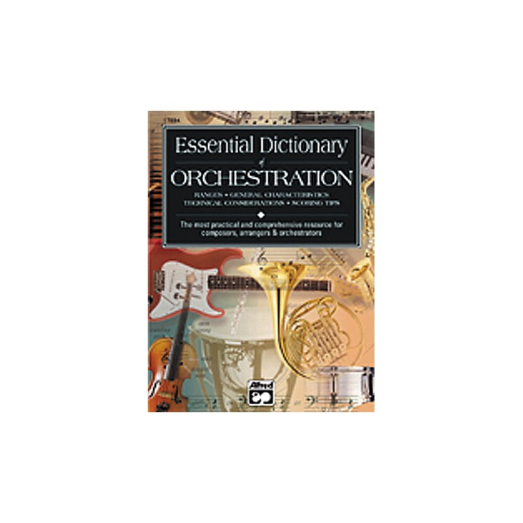 AlfredEssential Dictionary of Orchestration Book
