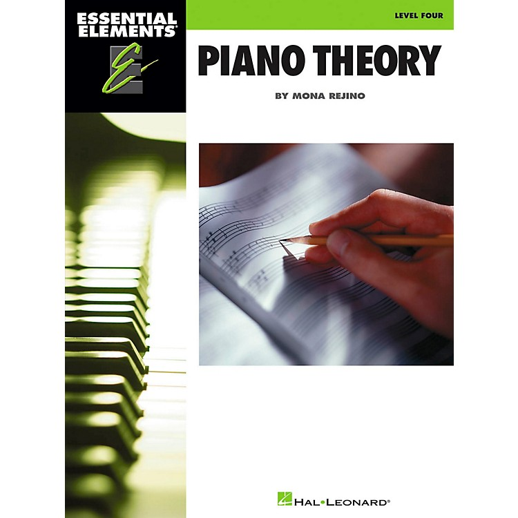 Hal Leonard Essential Elements - Piano Theory Level 4