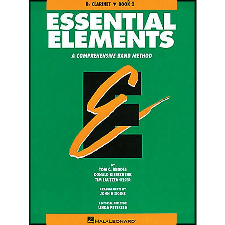 Hal Leonard Essential Elements Book 2 B Flat Clarinet