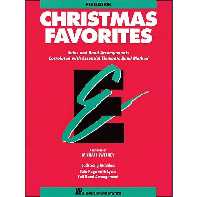 Hal LeonardEssential Elements Christmas Favorites Percussion