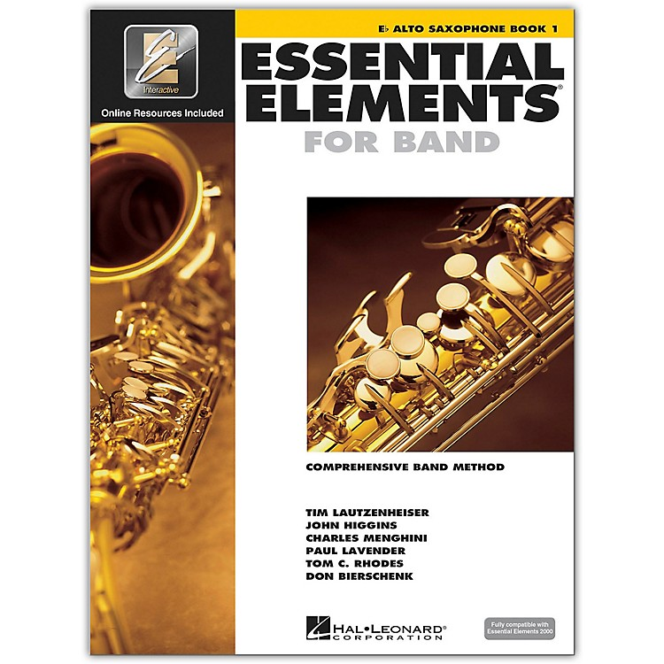 Hal LeonardEssential Elements For Band - Alto Saxophone Book 1 With EEi (Book/CD-ROM)