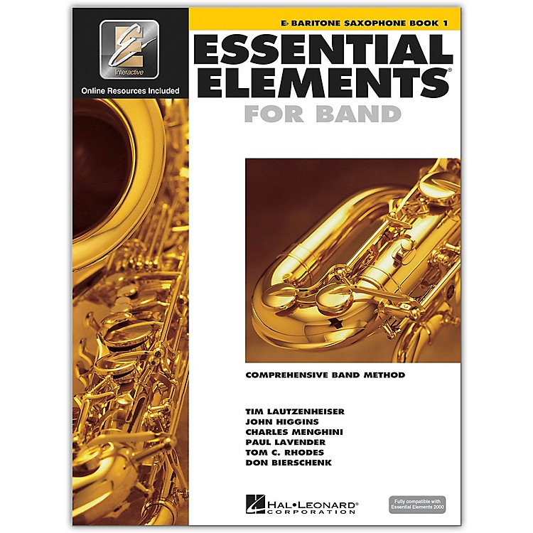 Hal LeonardEssential Elements For Band - Bari Saxophone Book 1 With EEi (Book/CD-ROM)