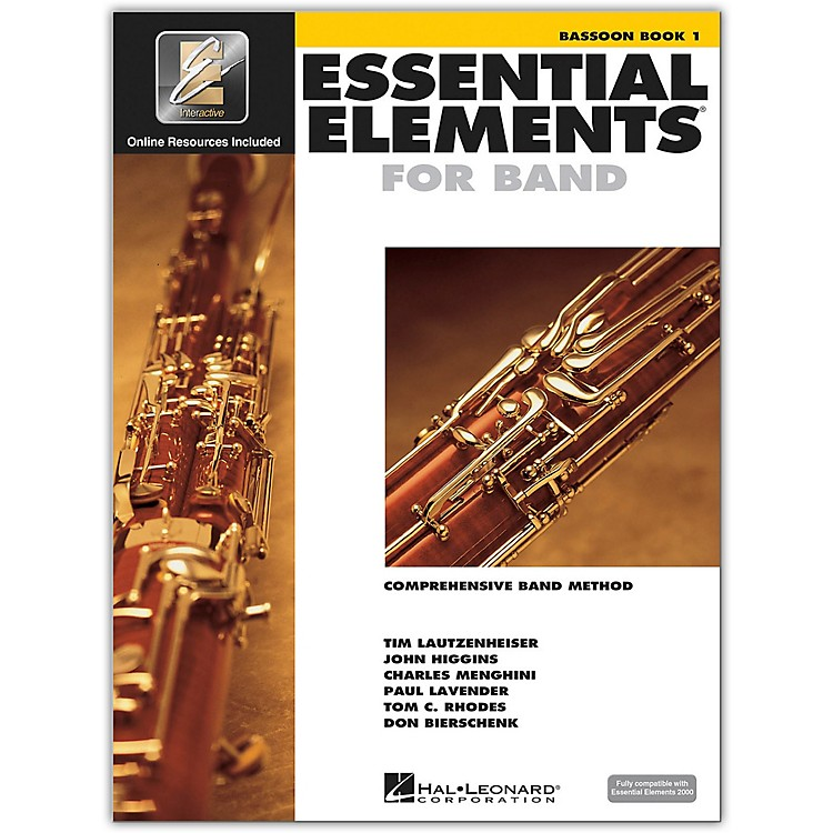 Hal Leonard Essential Elements For Band - Bassoon Book 1 with EEi (Book/CD-ROM)