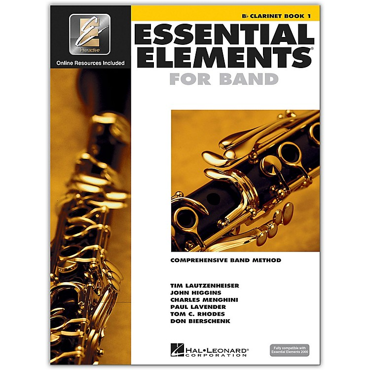 Hal Leonard Essential Elements For Band - Clarinet Book 1 With EEi (Book/CD-ROM)