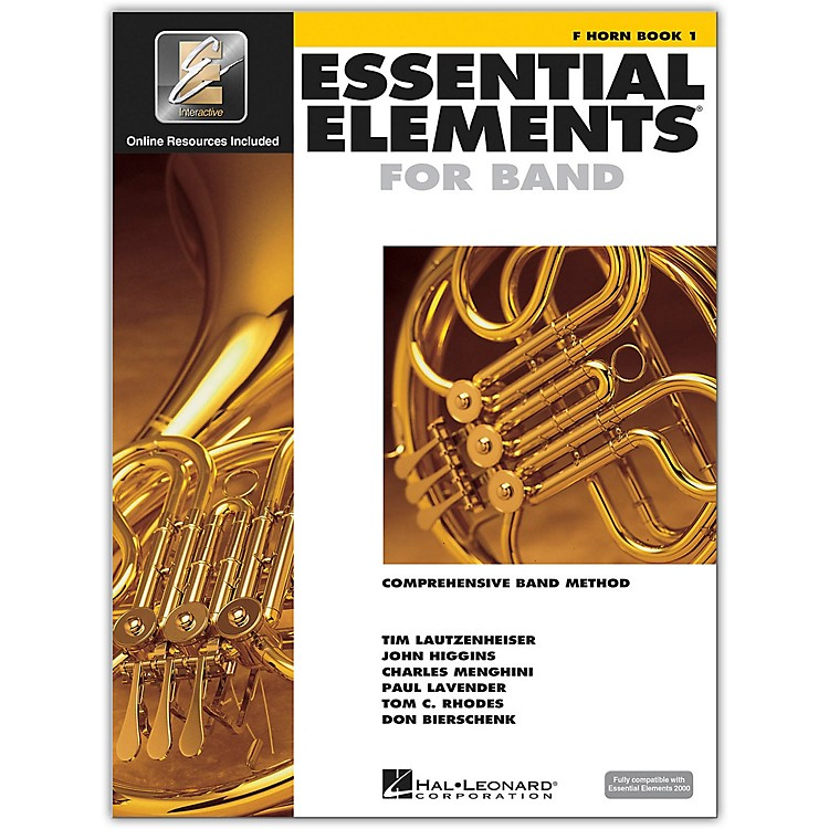 Hal Leonard Essential Elements For Band - French Horn Book 1 With EEi (Book/CD-ROM)