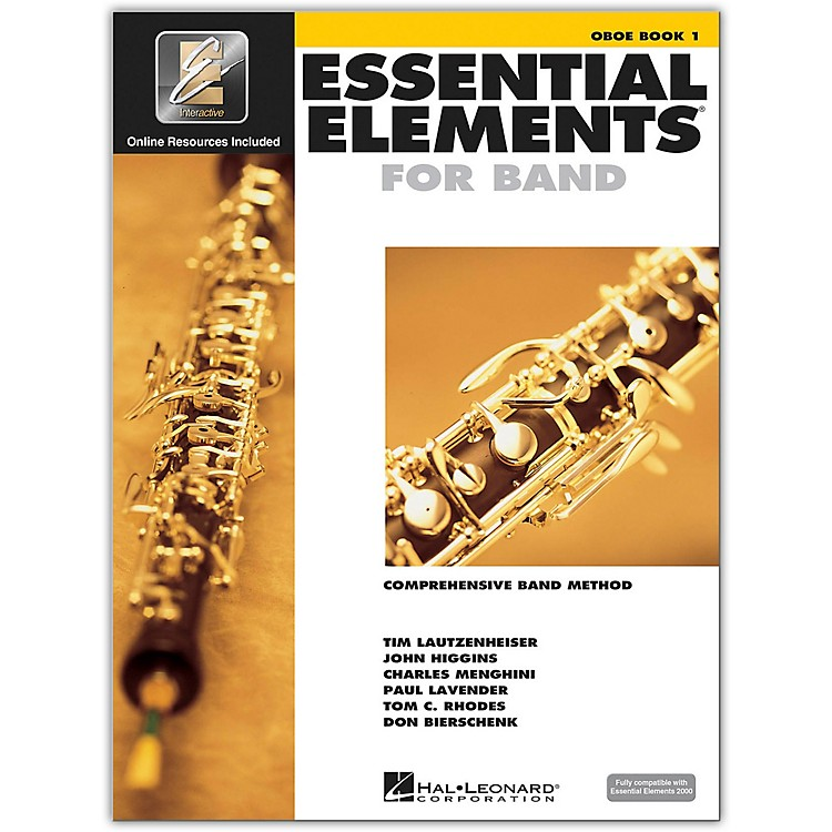 Hal Leonard Essential Elements For Band - Oboe Book 1 with EEi (Book/CD-ROM)