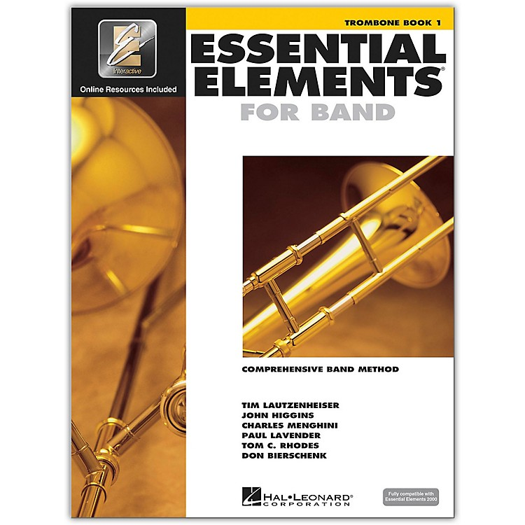 Hal Leonard Essential Elements For Band - Trombone Book 1 With EEi (Book/CD-ROM)