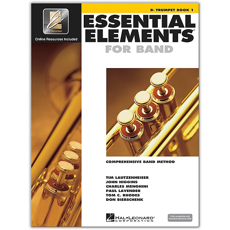 Hal Leonard Essential Elements For Band - Trumpet Book 1 With EEi (Book/CD-ROM)