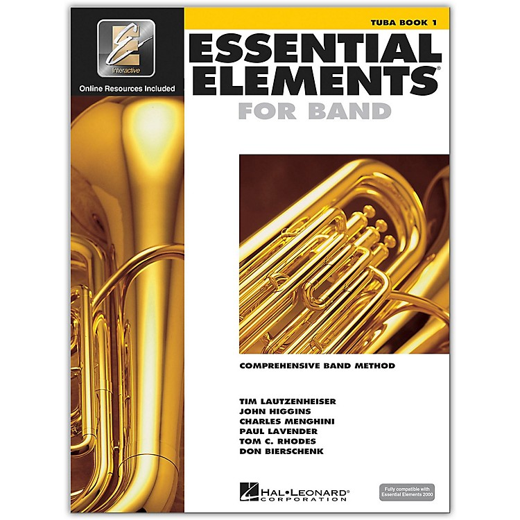 Hal LeonardEssential Elements For Band - Tuba Book 1 With EEi (Book/CD-ROM)