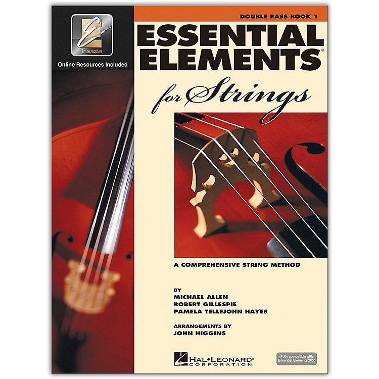 Hal Leonard Essential Elements For Strings - String Bass Book 1 With EEi (Book/CD-ROM)