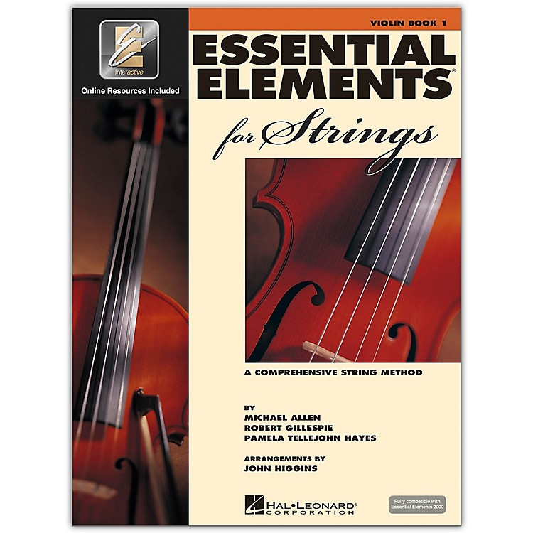 Hal Leonard Essential Elements For Strings - Violin Book 1 With EEi (Book/CD-ROM)
