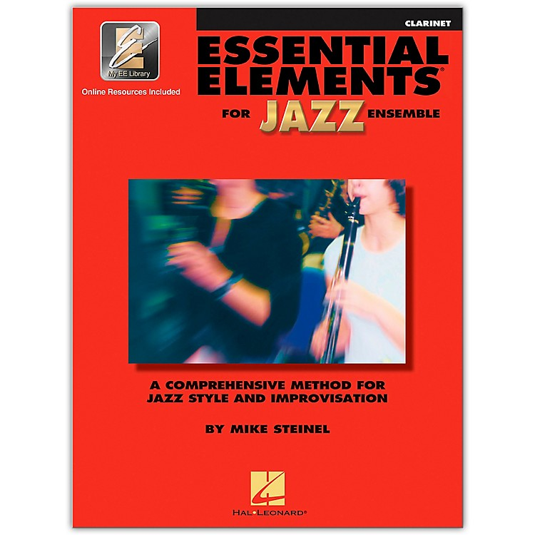 Hal Leonard Essential Elements Jazz Ensemble for Clarinet (Book with 2 CDs)