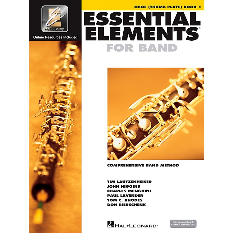 Hal Leonard Essential Elements Oboe Thumb Plate (Book/CD)