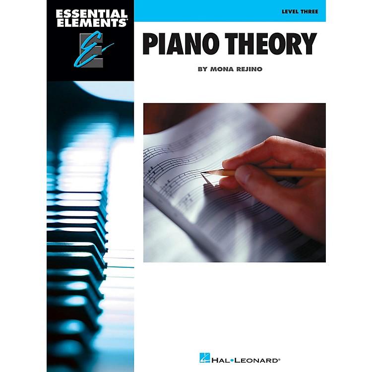 Hal LeonardEssential Elements Piano Theory  Level 3