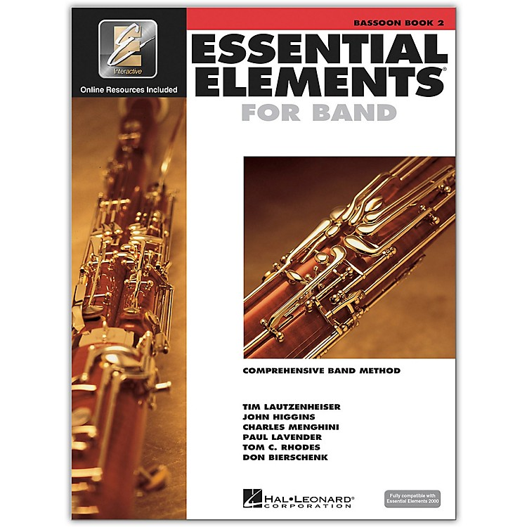 Hal Leonard Essential Elements for Band - Bassoon Book 2 With EEi
