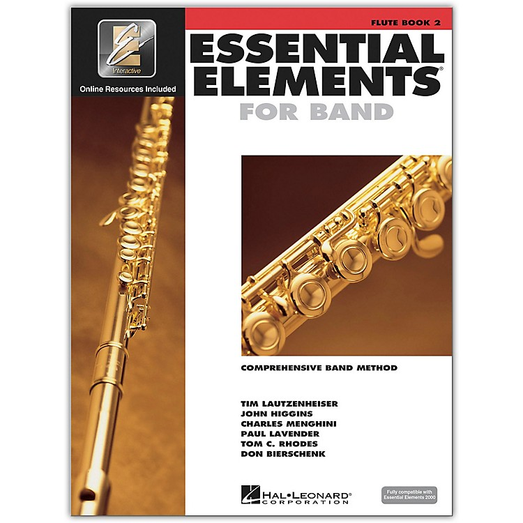 Hal LeonardEssential Elements for Band - Flute Book 2 With EEi