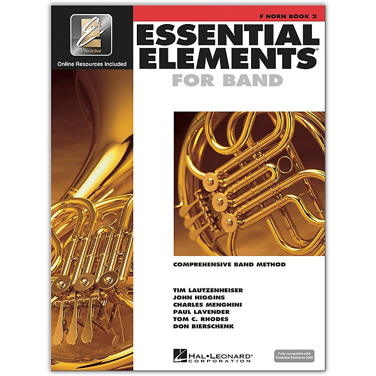 Hal Leonard Essential Elements for Band - French Horn (Book 2 with EEi)