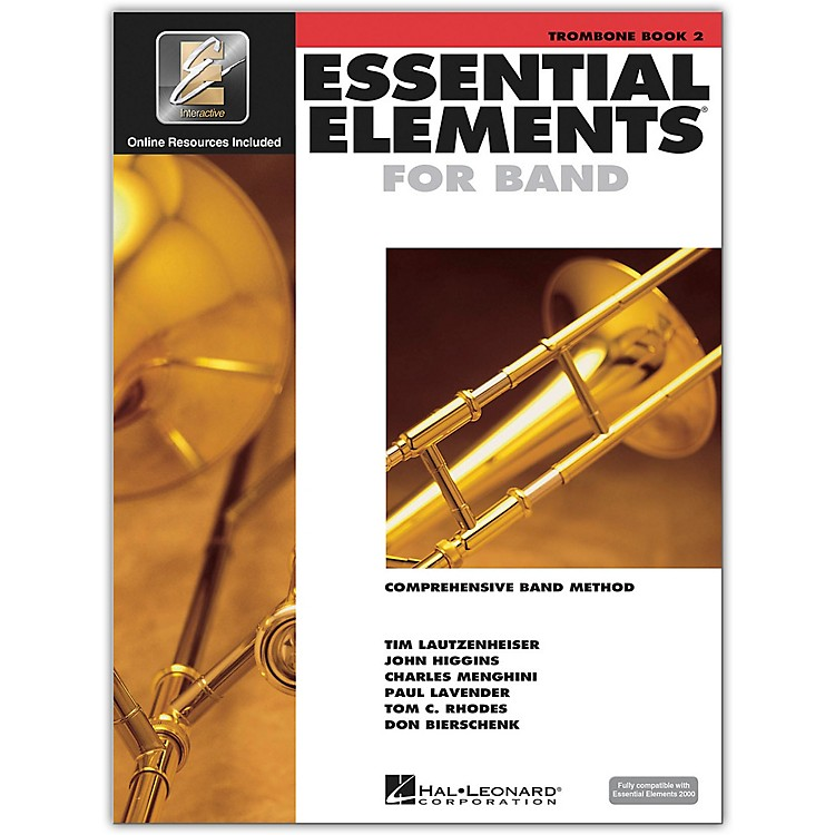 Hal Leonard Essential Elements for Band - Trombone Book 2 With EEi