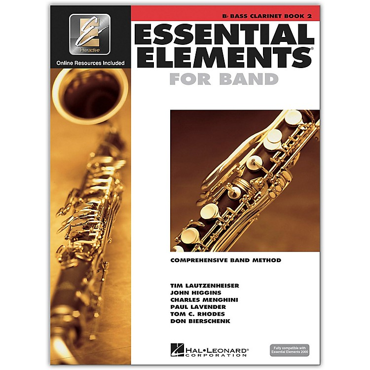 Hal LeonardEssential Elements for Bb Bass Clarinet (Book 2 with CD)