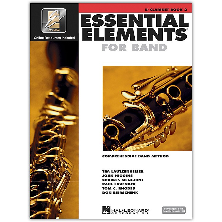 Hal LeonardEssential Elements for Clarinet (Book 2 with CD)