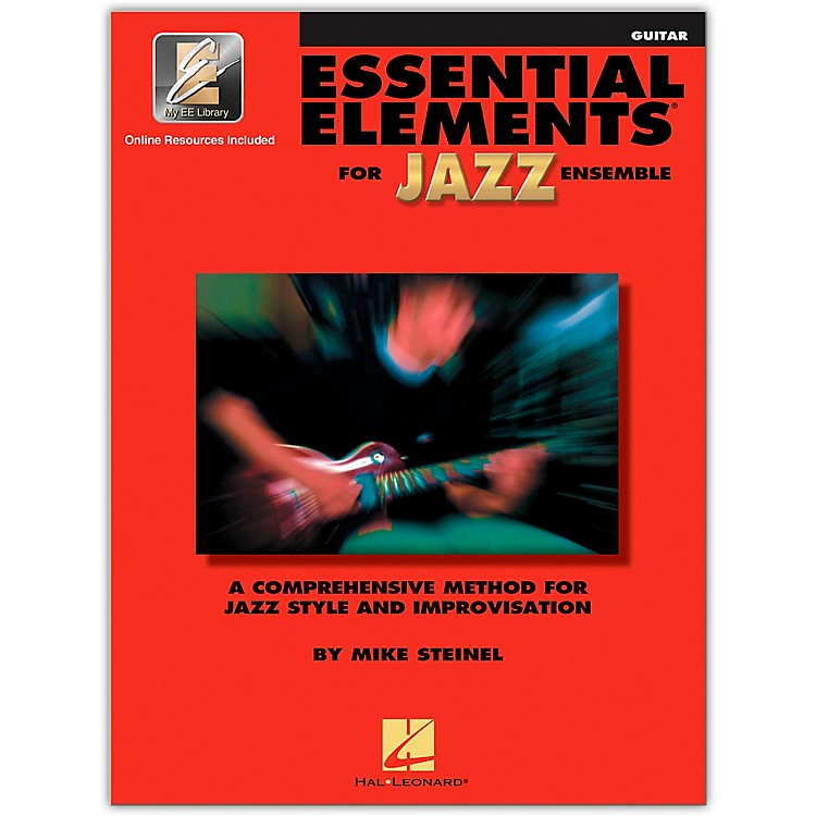 Hal Leonard Essential Elements for Jazz Ensemble Guitar Book/2CDs