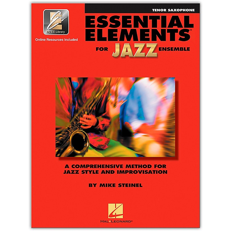 Hal Leonard Essential Elements for Jazz Ensemble for Tenor Saxophone (Book with 2 CDs)