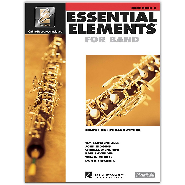 Hal Leonard Essential Elements for Oboe (Book 2 with CD)
