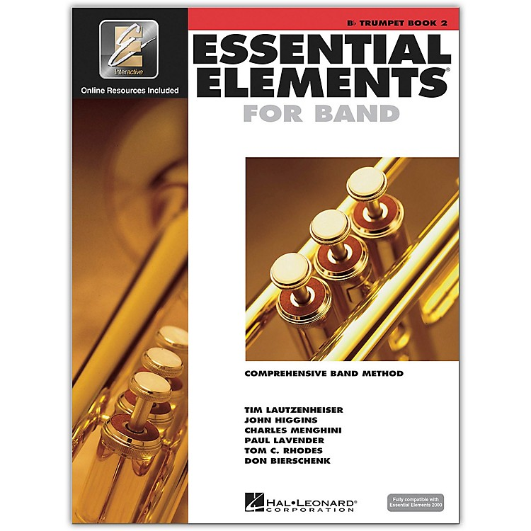 Hal LeonardEssential Elements for Trumpet (Book 2 with CD)