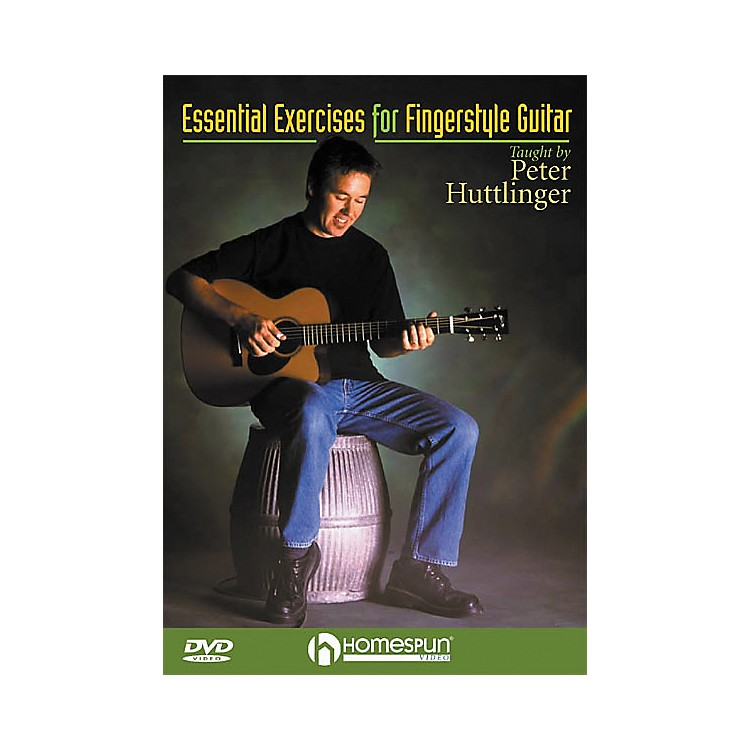 HomespunEssential Exercises for Fingerstyle Guitar (DVD)