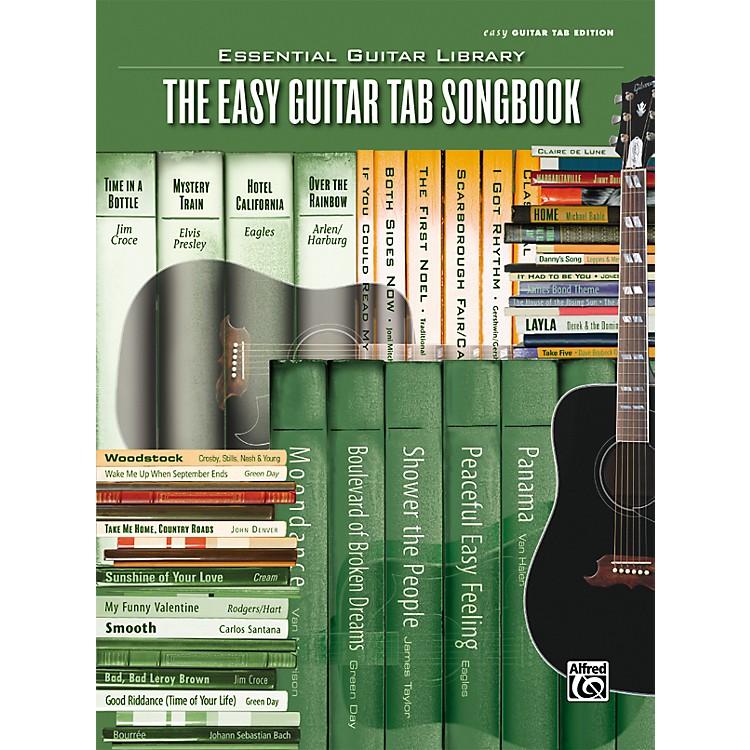 AlfredEssential Guitar Library Easy Guitar Tab Songbook