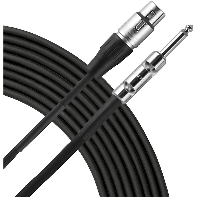 LivewireEssential High Impedance Microphone Cable XLR to 1/4