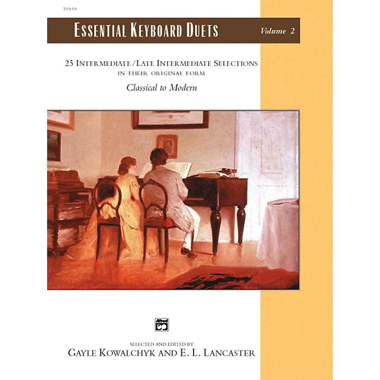 AlfredEssential Keyboard Duets, Volume 2 Intermediate / Late Intermediate