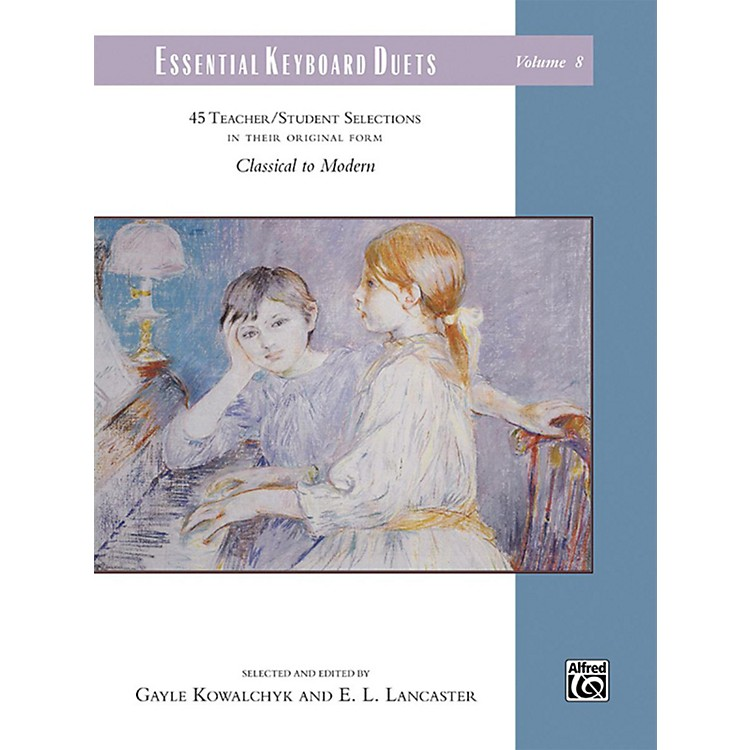 AlfredEssential Keyboard Duets, Volume 8 Comb Bound Book Elementary / Late Elementary