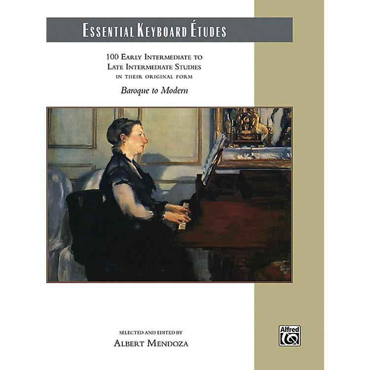 AlfredEssential Keyboard Etudes Comb Bound Book Early Intermediate to Late Intermediate