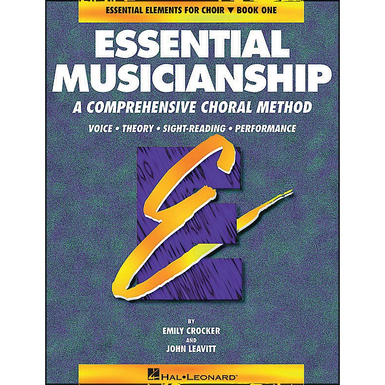 Hal LeonardEssential Musicianship Book 1 Student