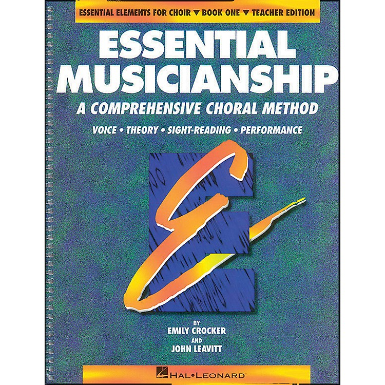 Hal Leonard Essential Musicianship Book 1 Teacher