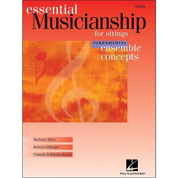 Hal LeonardEssential Musicianship for Strings - Ensemble Concepts Fundamental Viola
