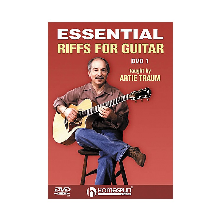 Homespun Essential Riffs for Guitar (DVD)