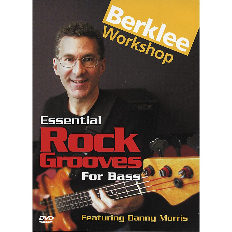 Berklee Press Essential Rock Grooves for Bass (DVD)