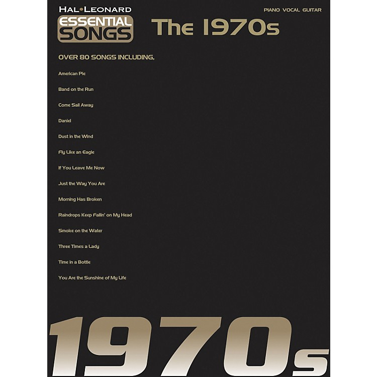 Hal LeonardEssential Songs - The 1970's Piano, Vocal, Guitar Songbook