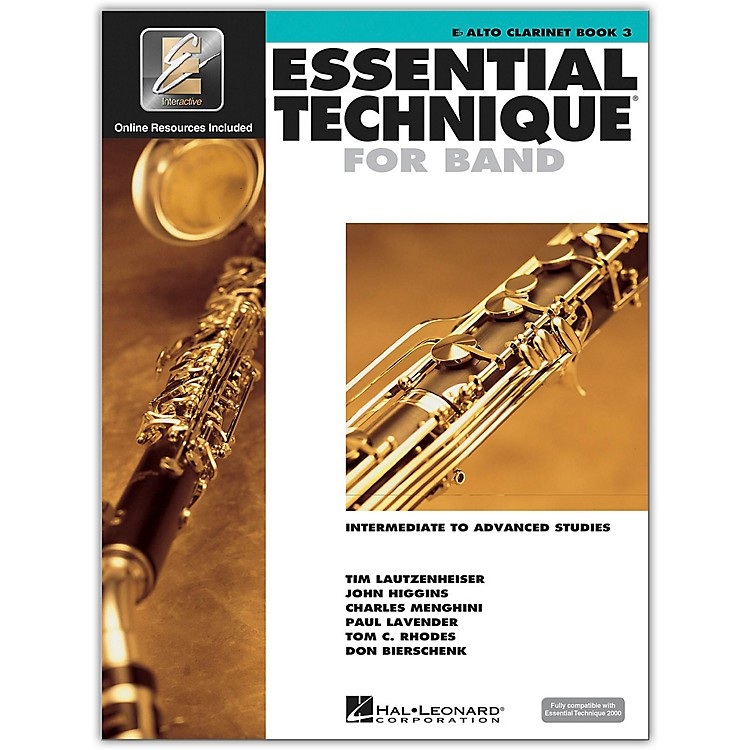 Hal Leonard Essential Technique 2000 E-Flat Alto Clarinet (Book/CD)