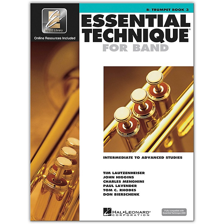 Hal Leonard Essential Technique 2000 for B Flat Trumpet (Book 3 with CD)