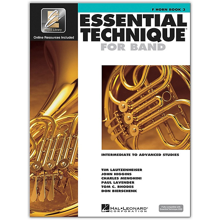 Hal LeonardEssential Technique 2000 for French Horn (Book/CD)