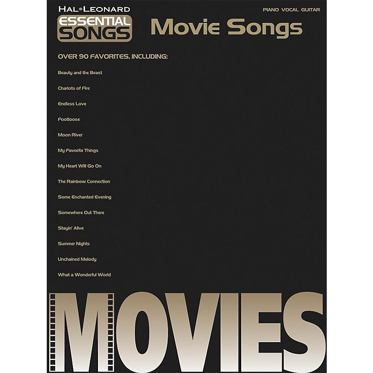 Hal LeonardEssential songs - Movie Songs Piano, Vocal, Guitar Songbook
