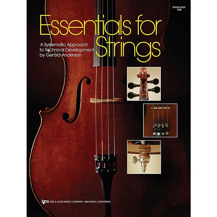 KJOSEssentials For Strings String Bass